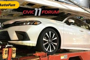 Honda Civic 2022 Kembali Terlihat di Thailand, Peluncurannya di Penghujung 2021?