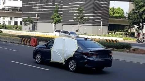 Honda City Sedan 2022 Tertangkap Kamera di Jalanan Jakarta, Pertanda Sebentar Lagi Launching 02