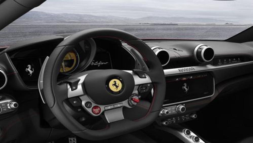 Ferrari Portofino 2019 Interior 002