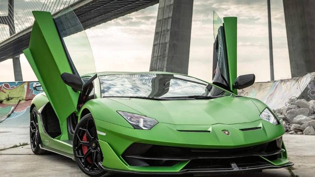 Lamborghini Aventador 2019 Exterior 011