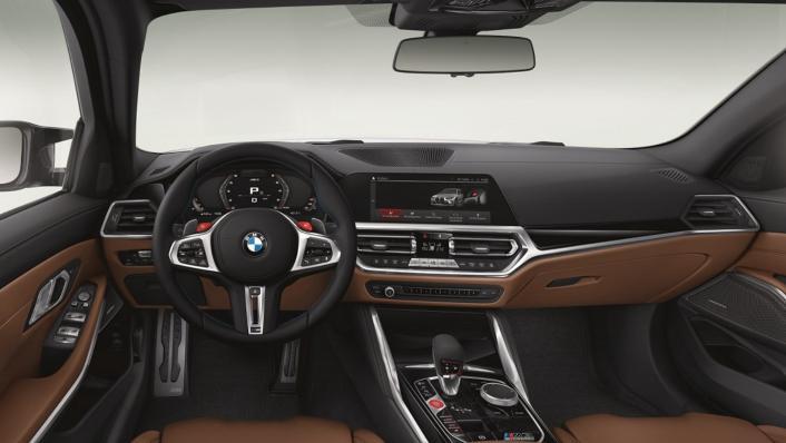 2021 BMW M3 Competition Interior 001