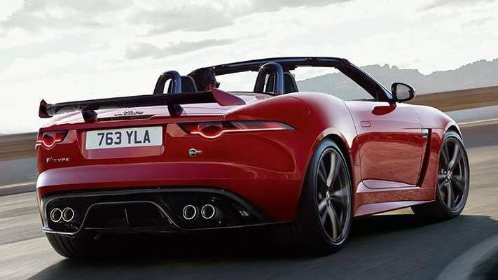 Jaguar F-TYPE 2019 Exterior 015