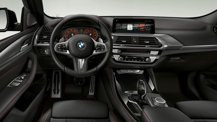 BMW X4 M 2020 3.0L Competition Interior 001