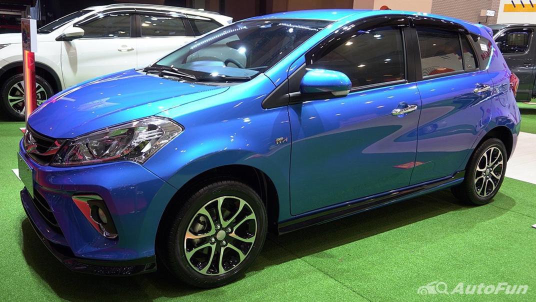 2021 Daihatsu Sirion Exterior 001