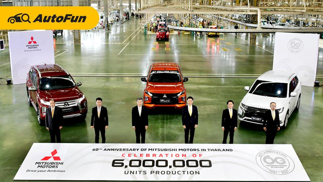 Produksi Mobil ke-6 Juta Unit Tandai 60 tahun Kehadiran Mitsubishi Motors Thailand 01
