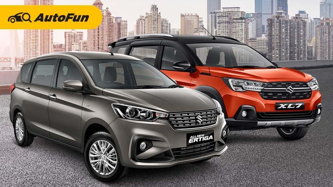 Dapat Relakasasi PPnBM dan Diskon Dealer, Berapa Harga Suzuki Ertiga 2021 dan Suzuki XL7 2021? 01