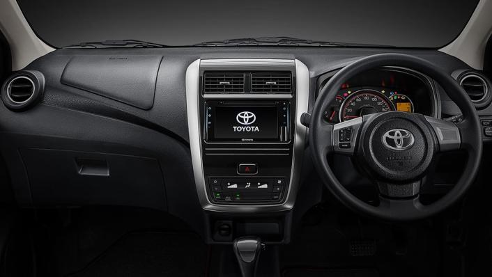 2021 Toyota Agya 1.2 GR Sport A/T Interior 001