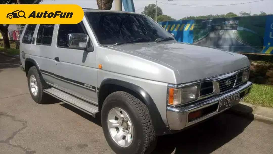 Tengok Kelebihan dan Kekurangan Nissan Terrano, SUV Macho dengan Harga Bekas Terjangkau! 01