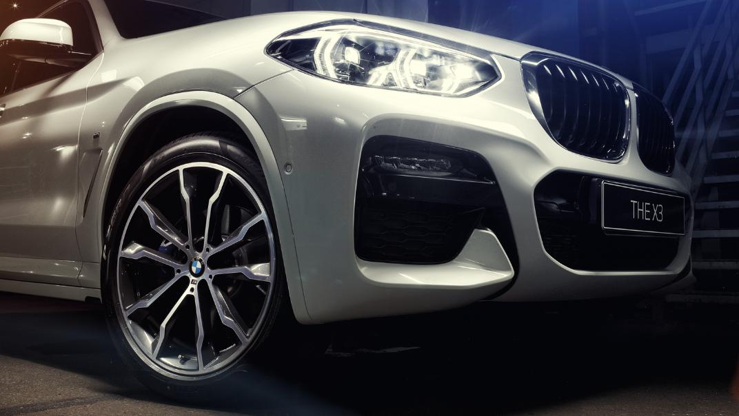 2021 BMW X3 xDrive30i M Sport Exterior 004