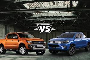 Spesifikasi Toyota Hilux Dibandingkan Isuzu D-Max dan Ford Ranger 2020, Siapa Lebih Unggul?