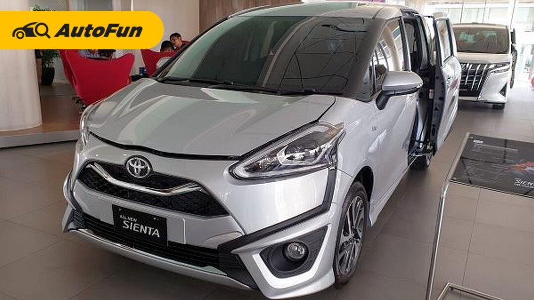 Punya Fitur Lengkap dan Diskon PPNBM, Kenapa Toyota Sienta 2021 Kurang Laku? 01