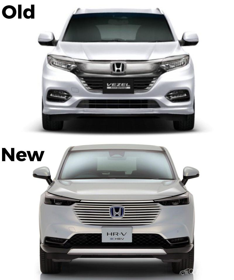 Perbandingan New Honda HR-V 2021 Vs Honda HR-V Lama, Lebih Mirip SUV Terbaru Mazda? 02