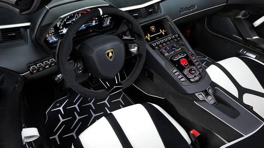 Lamborghini Aventador 2019 Interior 001