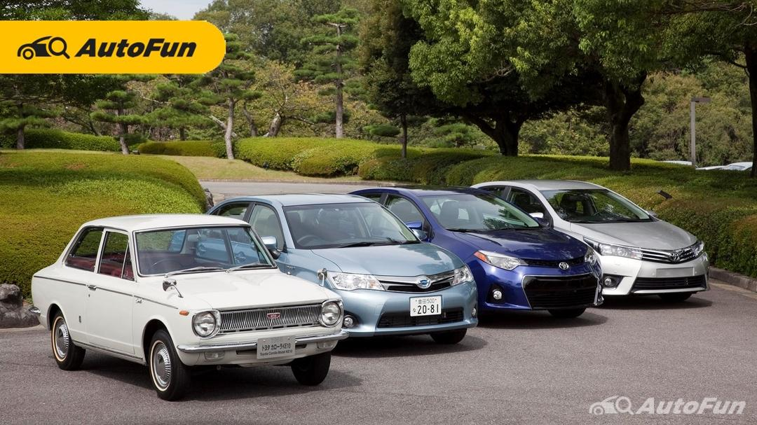 Perjalanan 55 Tahun Toyota Corolla,  12 Generasi dan 50 Juta Unit di Seluruh Dunia 01