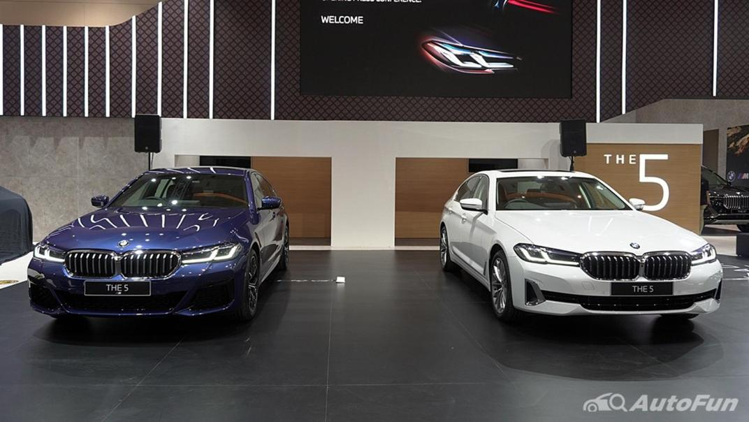 2021 BMW 5 Series Sedan Exterior 007