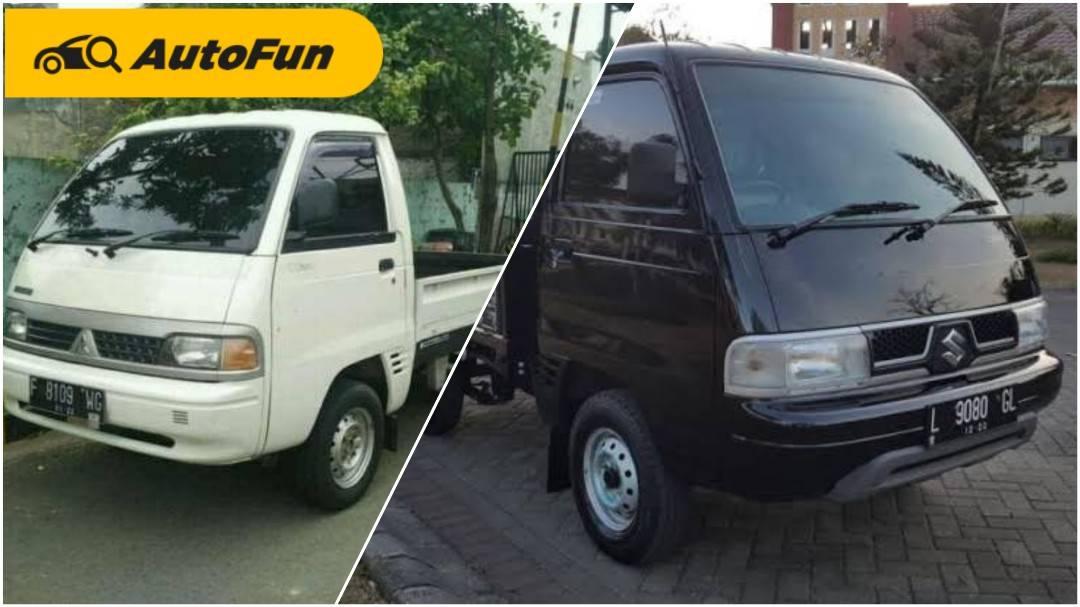 Terlihat Kembar, Ini Perbedaan Antara Mitsubishi T120SS dan Suzuki Carry 01