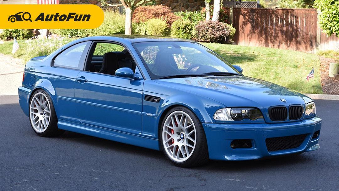 BMW E46 akhirnya hadir, dan masih populer sampai sekarang! 01
