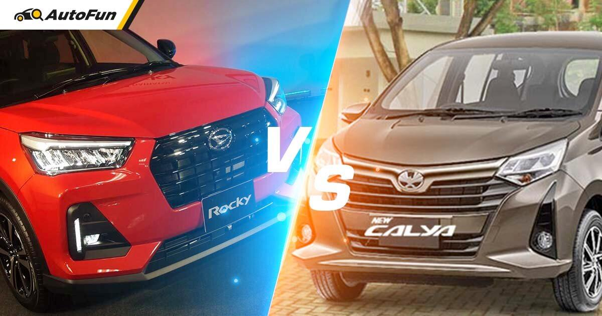 Perbandingan Power To Weight Mesin 1.2 L Toyota Raize-Daihatsu Rocky dengan Calya-Sigra, Pendatang Baru Lebih Unggul? 01