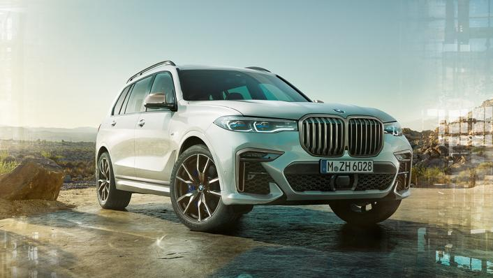 2021 BMW X7 xDrive40i Opulence Exterior 007