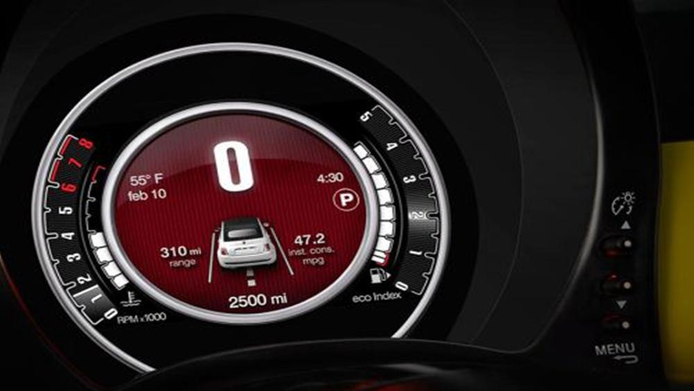Fiat 500c 2019 Interior 010