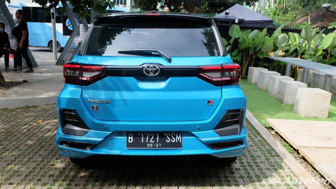 2021 Toyota Raize Exterior 012