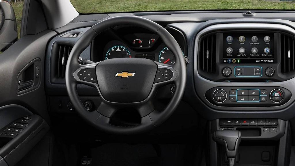 Chevrolet Colorado 2019 Interior 002