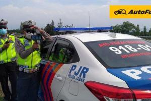Razia Kecepatan Pakai Speed Gun, Tim Arogan Toyota Fortuner 2021 Cs Makin Susah Ngebut di Cipali