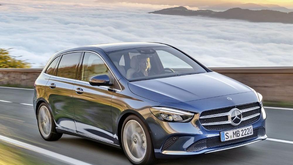 Mercedes-Benz B-Class 2019 Exterior 006