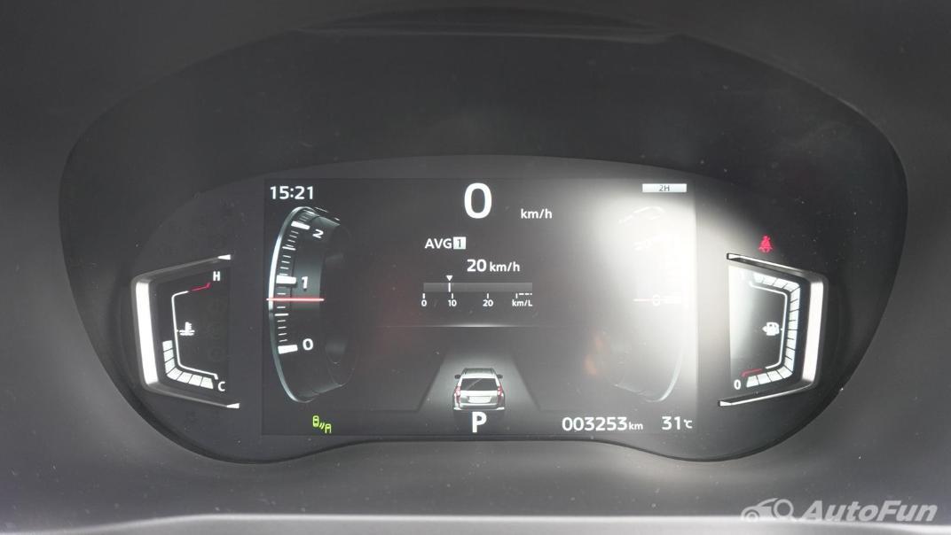 2021 Mitsubishi Pajero Sport Dakar Ultimate 4x4 AT Interior 013