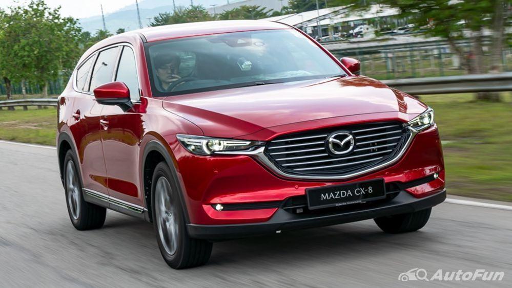 Mazda CX 8 2019 Exterior 004