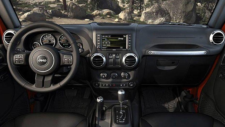 Jeep Wrangler Unlimited 2019 Interior 001