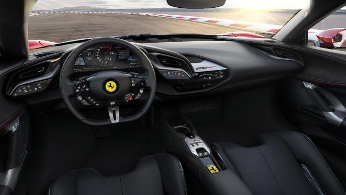 Ferrari SF90 Stradale 2019 Interior 001