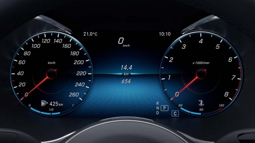 Mercedes-Benz C-Class Coupe 2019 Interior 004