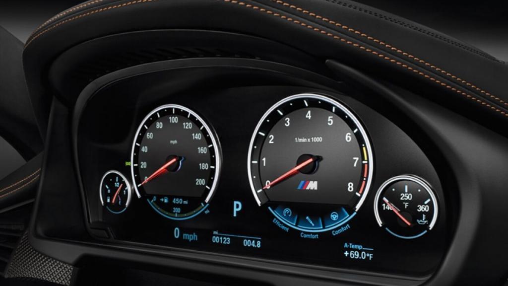 BMW X6 M 2019 Interior 002