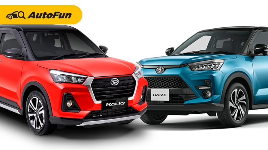 Duet Pendatang Baru Toyota Raize dan Daihatsu Rocky, Mana yang Paling Laris? 01