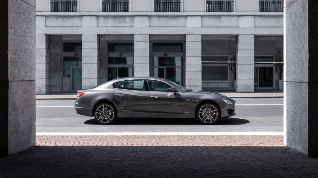 Maserati Quattroporte 2019 Exterior 013