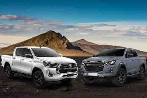 Perang Spesifikasi Isuzu D-Max 2022 Vs Toyota Hilux 2021, Double Cabin Toyota Bukan Tandingan yang Tepat?