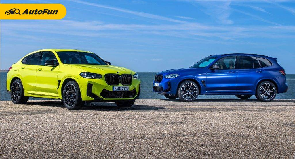 BMW X3 M Competition 2022 dan BMW X4 M Competition 2022