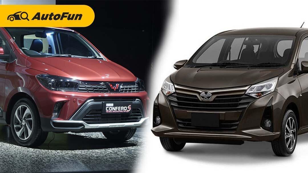 Biaya Service Wuling Confero Facelift Vs Toyota Calya 2021 Sampai 100 Ribu Km, Merek China Berani Lebih Murah 01
