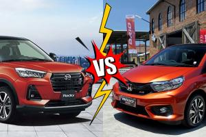 Komparasi Daihatsu Rocky 1.0 Turbo vs Honda Brio RS, Jadi Senjakala Hatchback di Indonesia?