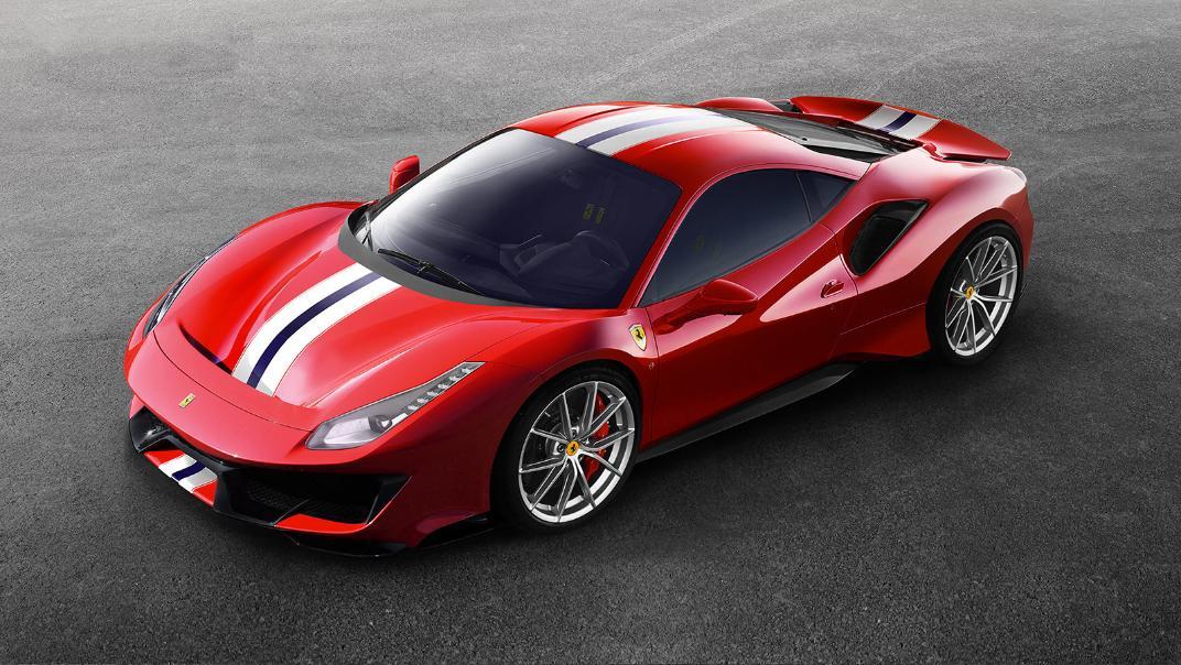 Ferrari 488 Pista 2019 Exterior 005