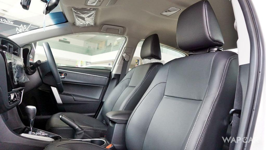 Toyota Corolla Altis 2019 Interior 180