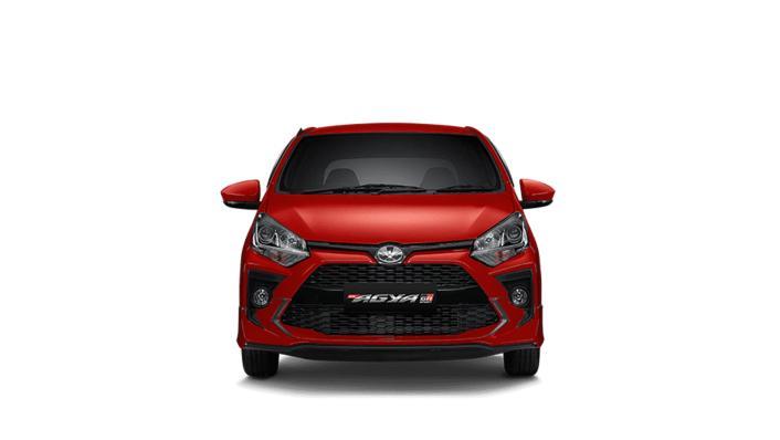 2021 Toyota Agya 1.2 GR Sport A/T Exterior 002