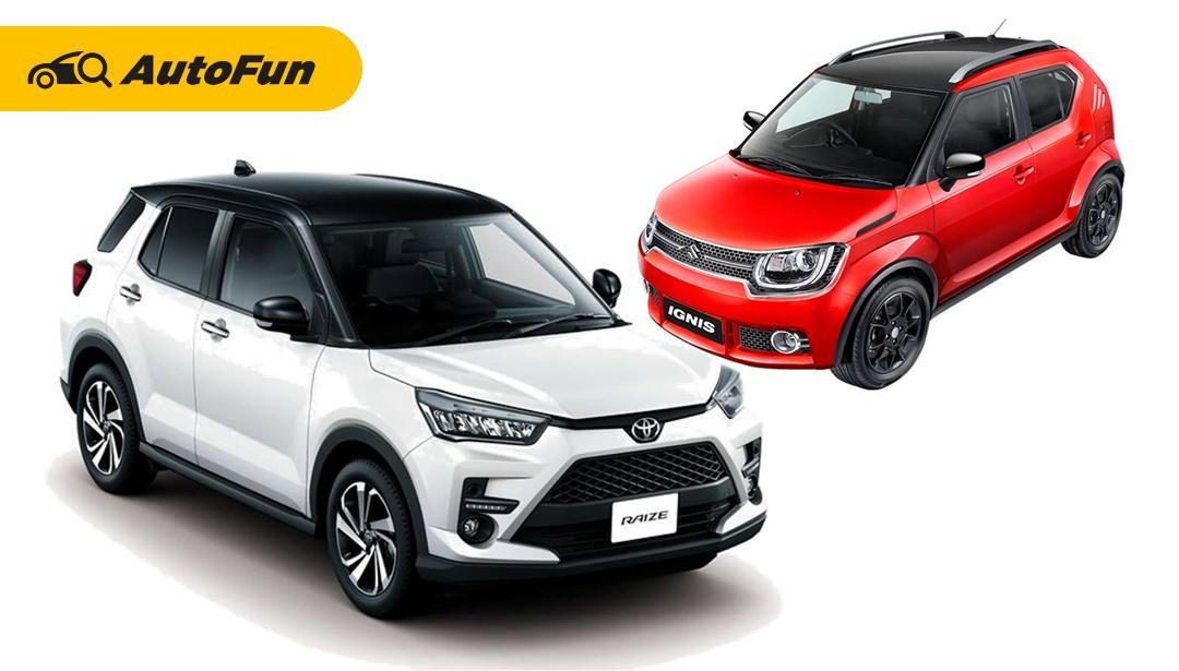 Apakah Toyota Raize 2021 Siap Menantang Suzuki Ignis di Pasar Mini SUV Indonesia? 01