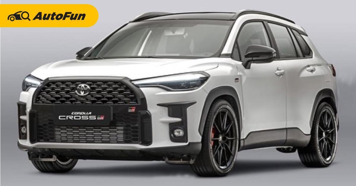 Paket Body Kit Toyota Corolla Cross 2021 Akan Meluncur Tahun ini, Bergaya Gazoo Racing 01