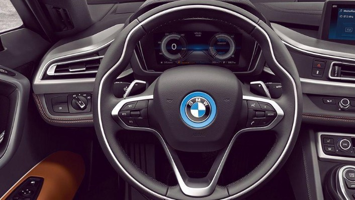 BMW I8 Coupe 2019 Interior 001