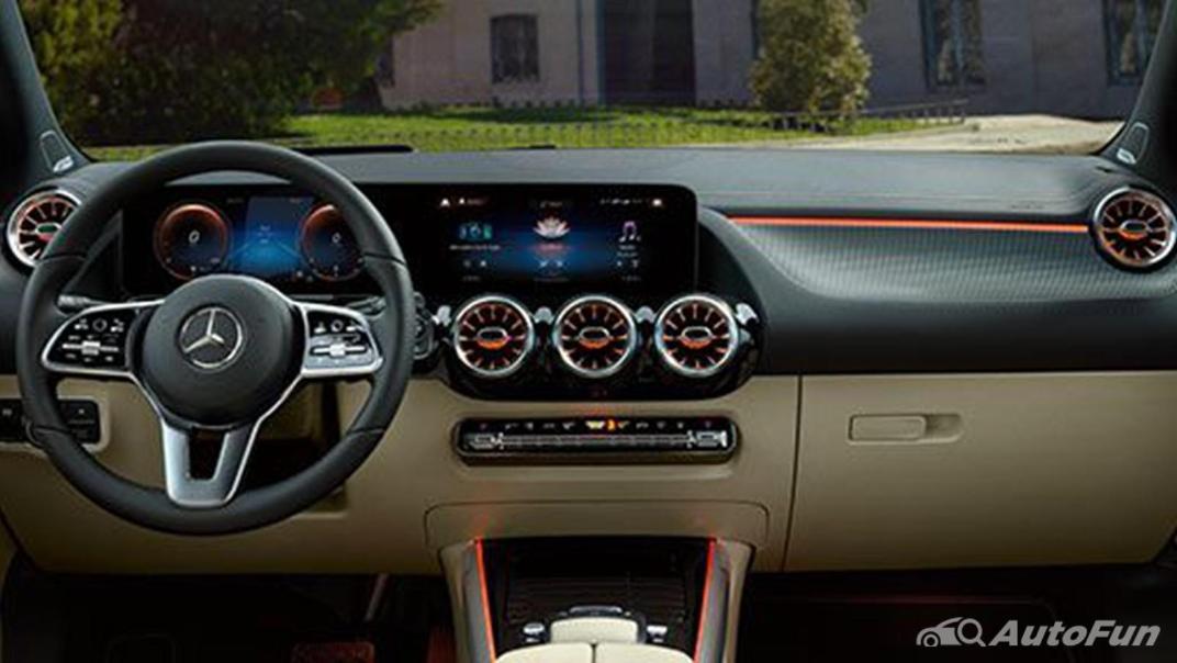 Mercedes-Benz B-Class 2019 Interior 002