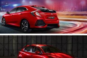 Perbandingan Kenyamanan Berkendara Honda Civic Hatchback RS Vs Mazda3 Hatchback
