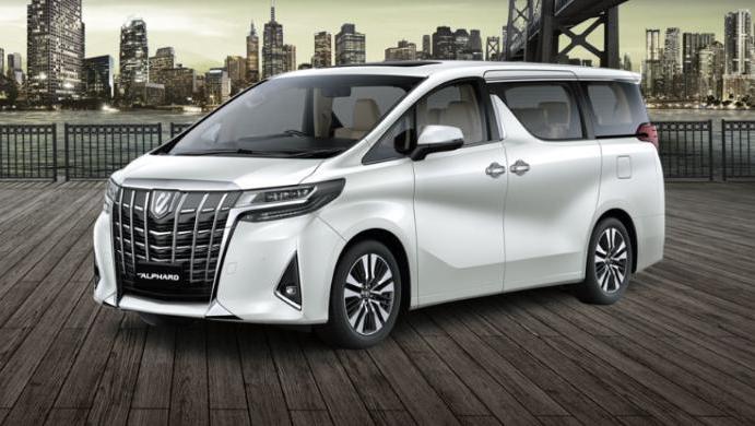 Toyota Alphard 2019 Exterior 002