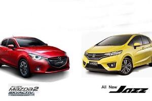 Perbandingan Honda Jazz dan Mazda2, Berdesain Atraktif tapi Beda Performa